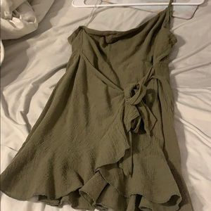 one shoulder princess prolly dress